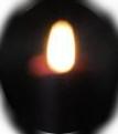 Hiipuva kynttilä